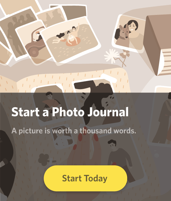 Start a photo journal. A picture is worth a thousand words.