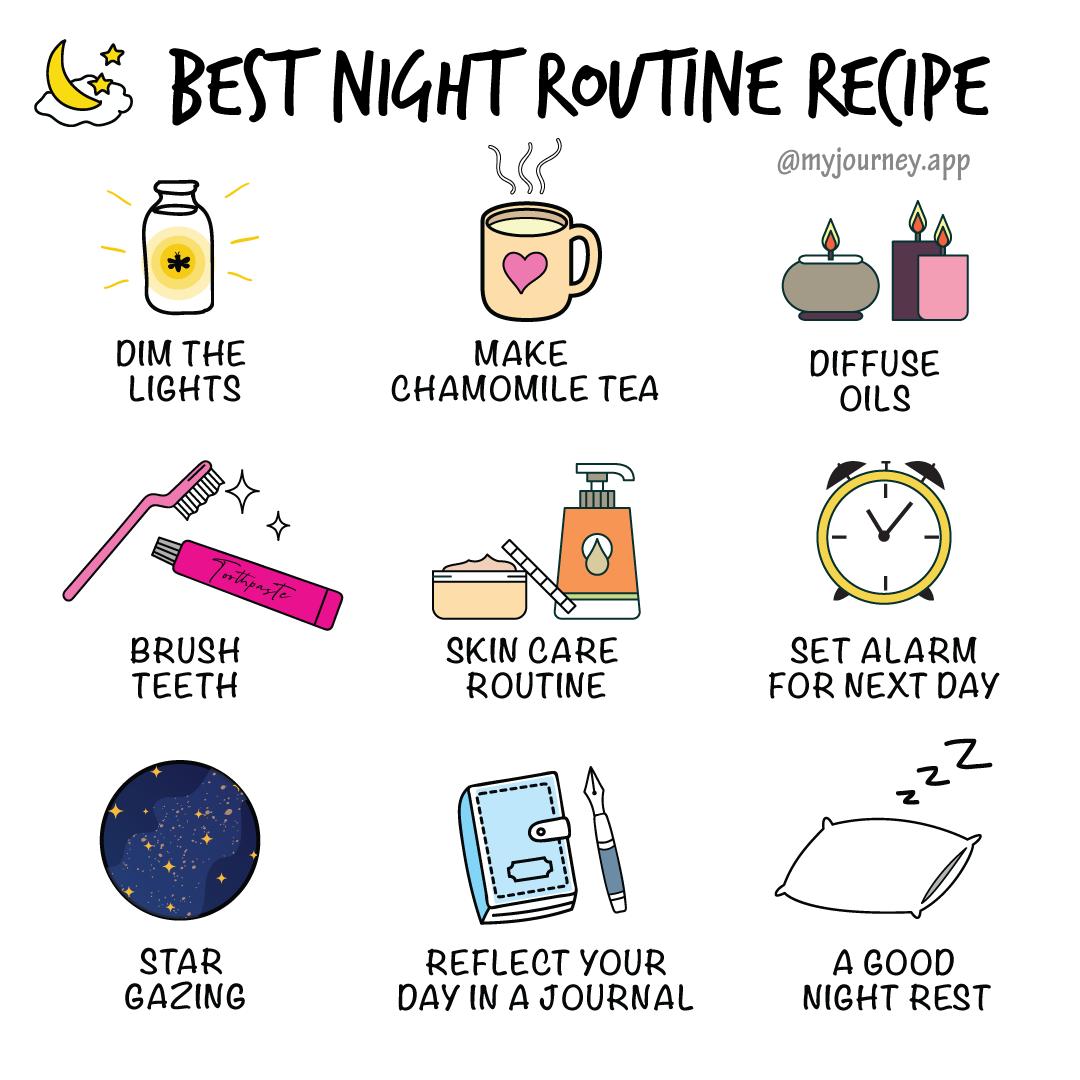 Best Night Routine Recipe